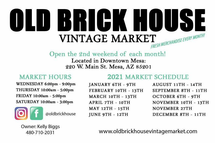 Old Brick House Vintage Market