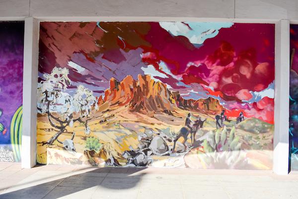 Desert Landscape Mural #2