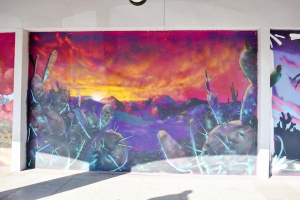 Desert Landscape Mural #3