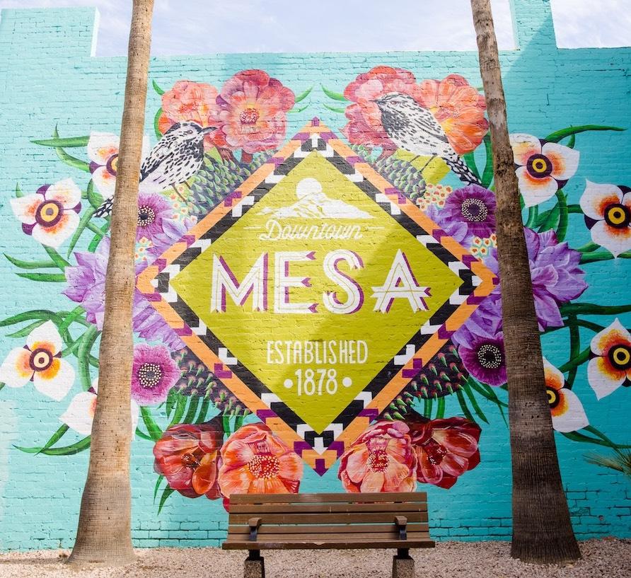 Downtown Mesa Mural