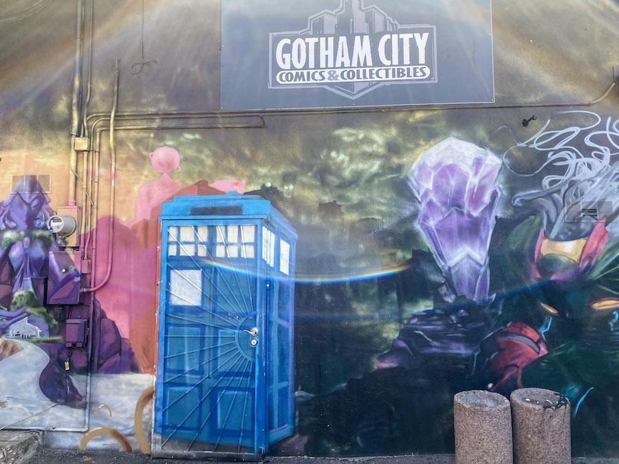 Gotham City Comics Mural