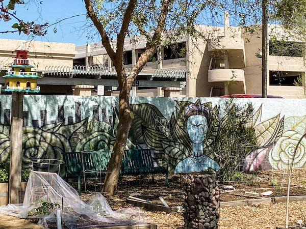 Mesa Urban Garden Mural 3