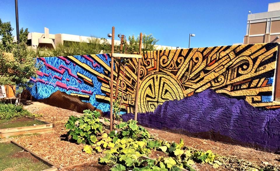 Mesa Urban Garden Mural 2