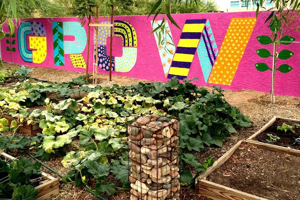 Mesa Urban Garden Mural