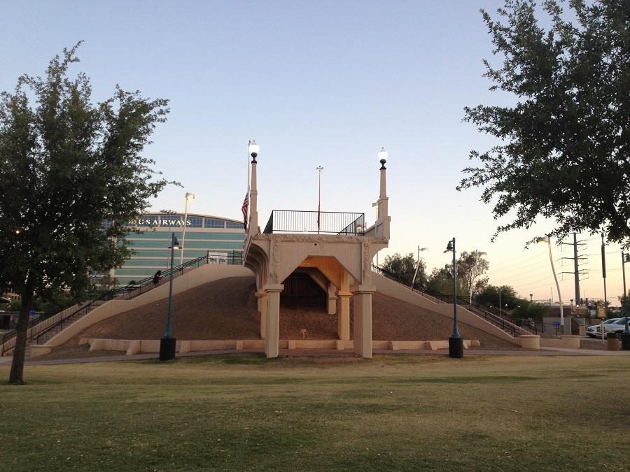 Tempe Beach Stadium / Ash Avenue Bridge Abutment