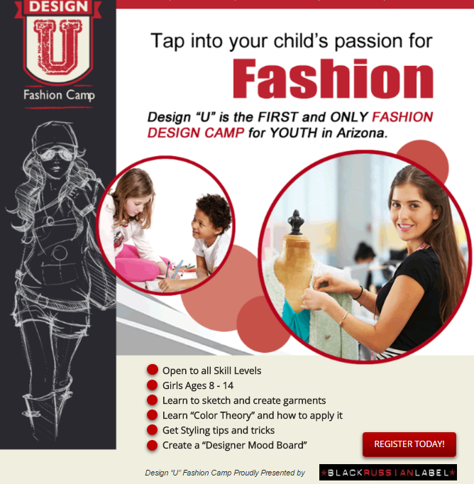 Design U: Fashion Camp Presented by Black Russian Label