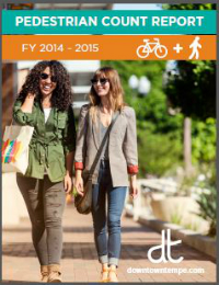 Spring 2015 Pedestrian Count cover