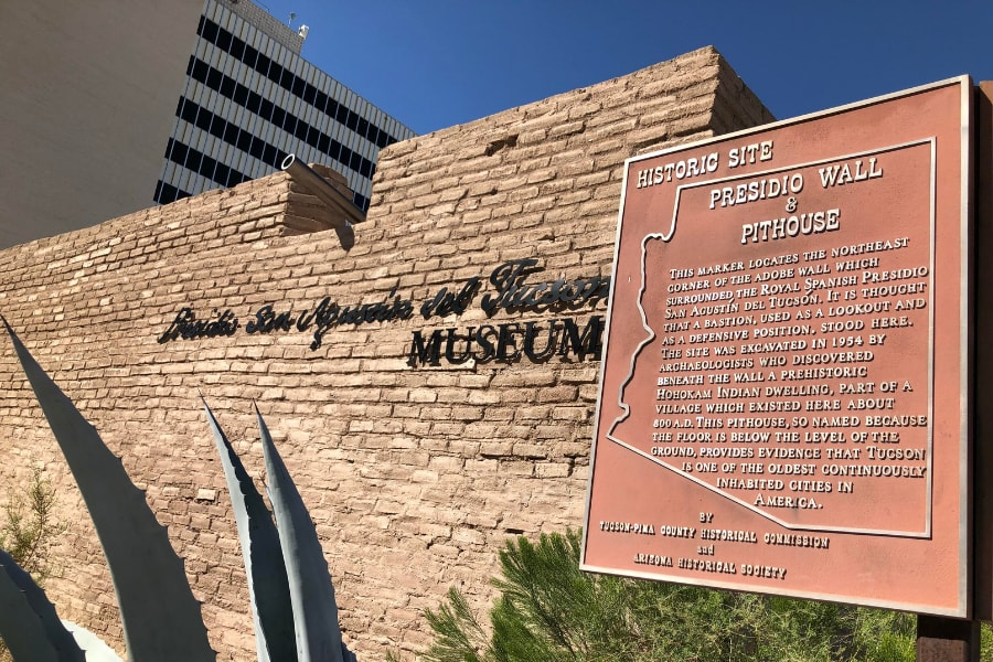 Presidio San Agustin del Tucson Museum