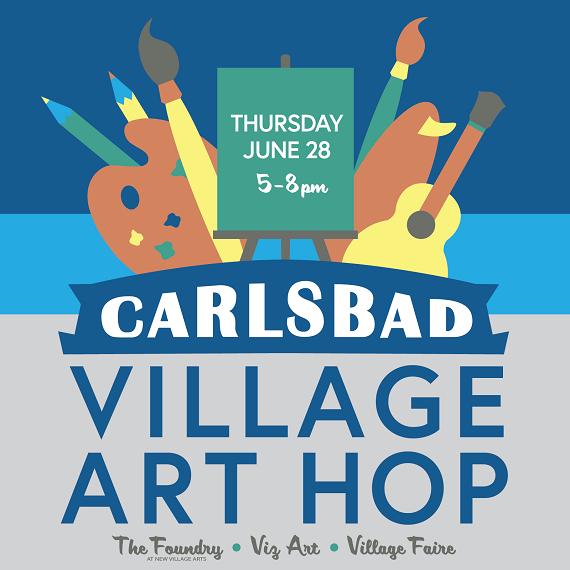 Carlsbad Village Art Hop Returns June 28th