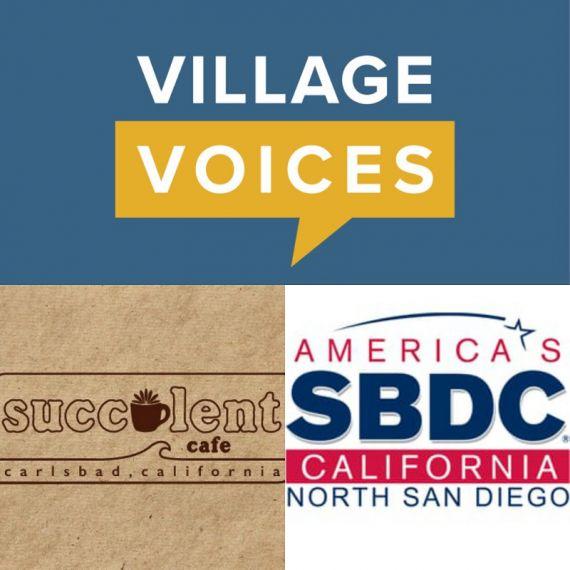 Don't Miss Village Voices Tuesday, April 3