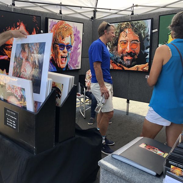 23rd Annual Art in the Village Sunday, June 27th