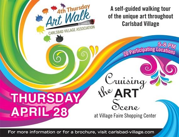 Art Walk Returns April 28th