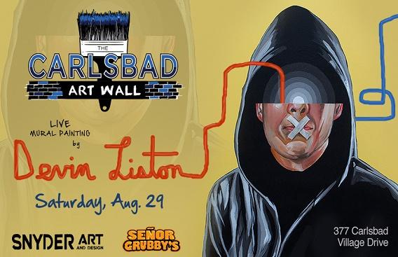 Carlsbad Art Wall Mural #4