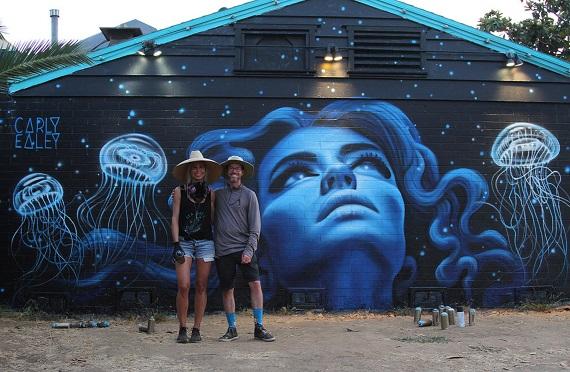 New Carlsbad Art Wall Beautifies Carlsbad Village