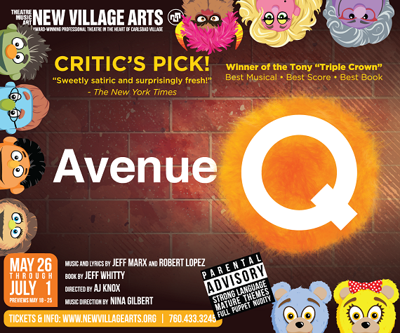Avenue Q Brings Hilarity to the NVA Stage