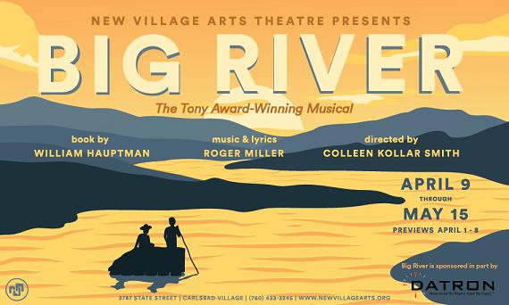Tony Award-Winning BIG RIVER Comes to the Village