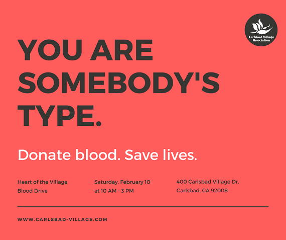 Heart of the Village Blood Drive Needs You!
