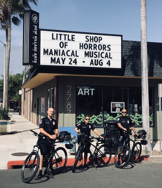 Carlsbad Bike Patrol Unit In the Village This Summer
