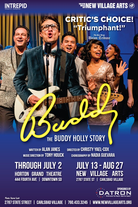 The Buddy Holly Story Coming to New Village Arts