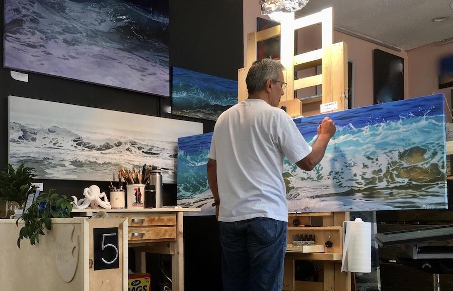 Carlos Primo Wave Art