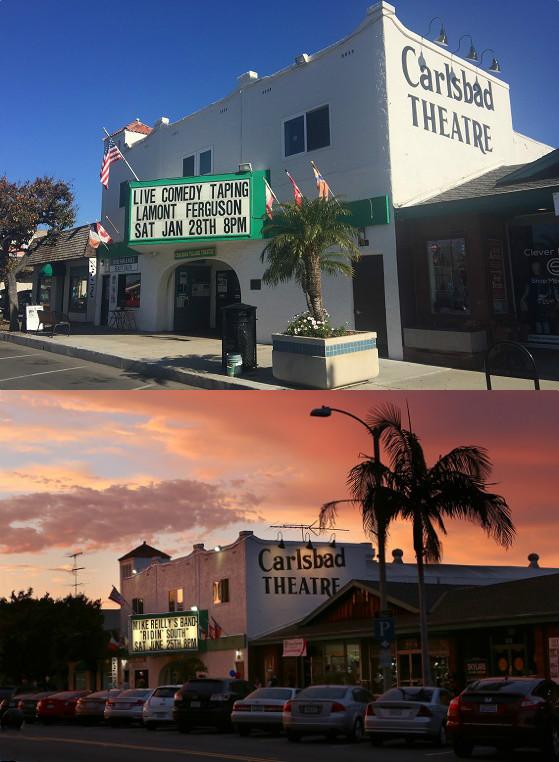 Happy 90th Birthday Carlsbad Village Theatre!