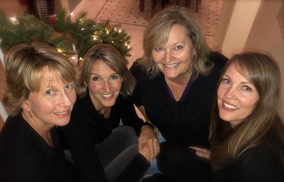 Holiday Carols By Close Quarters Quartet At Holiday Sip & Shop