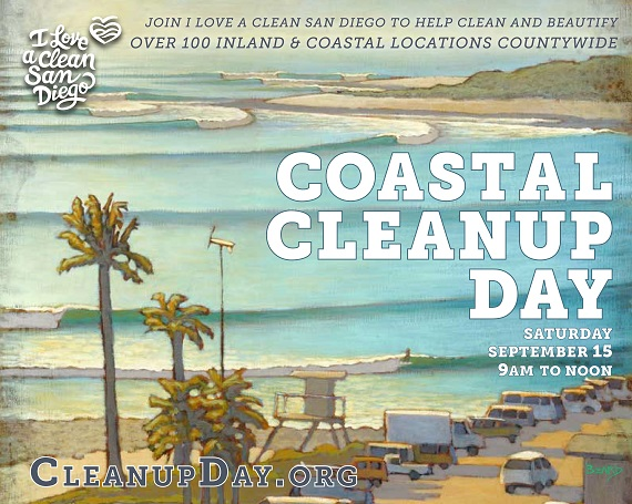 Support Carlsbad Village on Coastal Cleanup Day