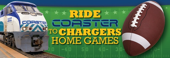 Coaster + Chargers = Great Day!