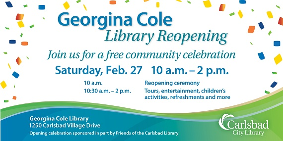 Cole Library Reopens Soon!