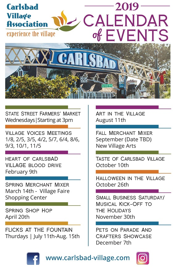 Village Events For Your Calendar