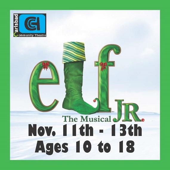 Carlsbad Community Theatre Presents Elf Jr!