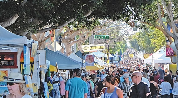 Carlsbad Village Faire Returns to Downtown May 6th