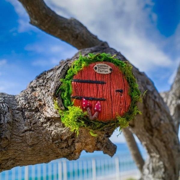 A Look Behind the Fantastical Village Fairie Doors