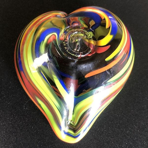 Follow Your Heart Blown Glass Treasure Hunt