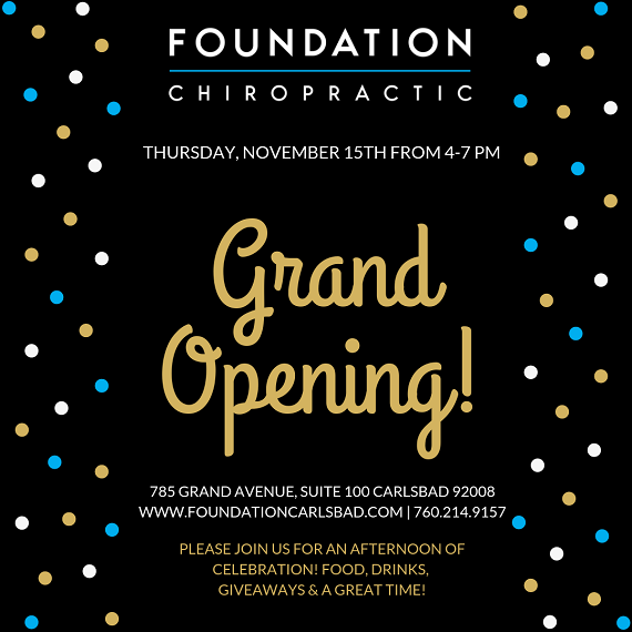 Foundation Chiropractic Grand Opening