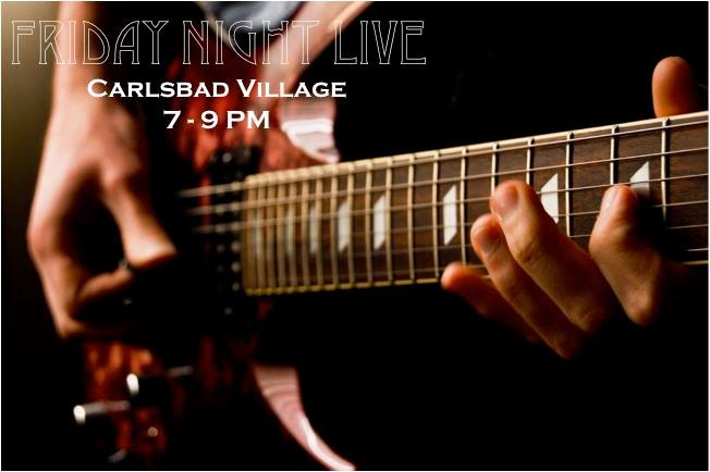 Friday Night Live Music Schedule (July)