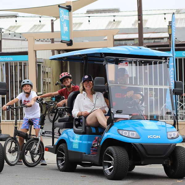 On The Move With Beach Vibe Golf Cart Rentals