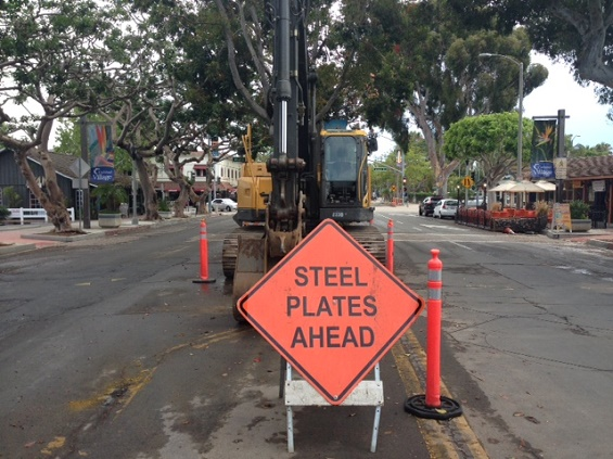 Grand Avenue Construction Update