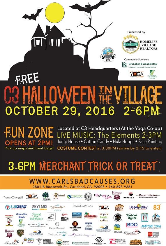 C3 Brings Halloween Fun to Carlsbad Village