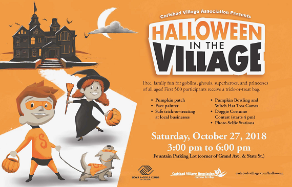 Family Fun at Halloween in the Village Oct. 27