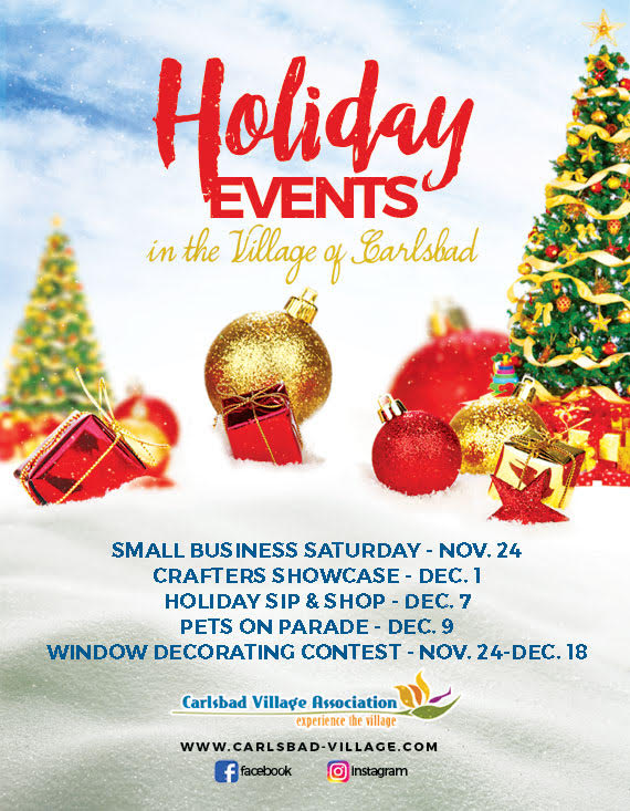 Save The Date For Upcoming Holiday Events