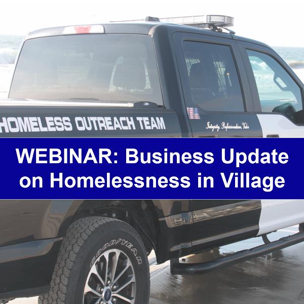 Special Webinar On Carlsbad Village Homeless Issue