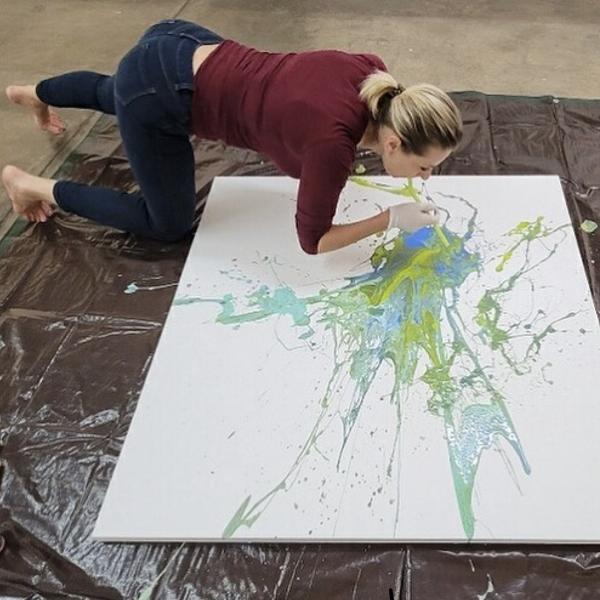 Express Your Inner Joy! Art Exhibit At The Foundry Artist Studios