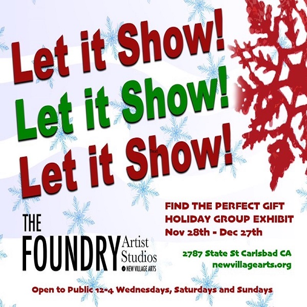 Holiday Group Exhibit Now On Display At NVA Foundry Artist Studios