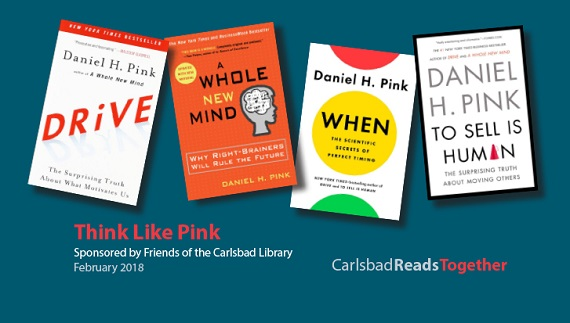 Carlsbad Reads Together Series in February