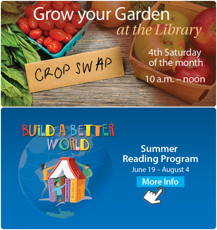 Cole Library Offers Excellent Summer Activities