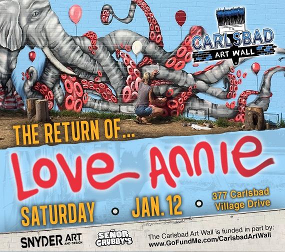 Carlsbad Art Wall Gets A Brand New Look Saturday