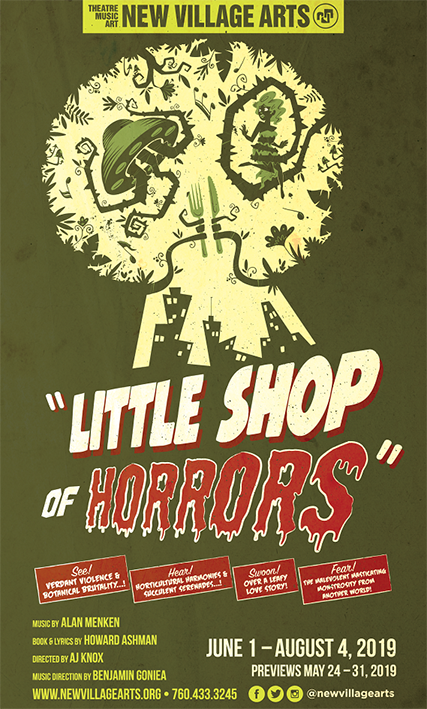 Little Shop of Horrors Takes The Stage at NVA With Rave Reviews