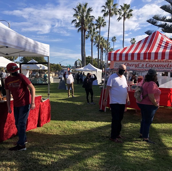 Carlsbad Village Makers Market An Artistic Success