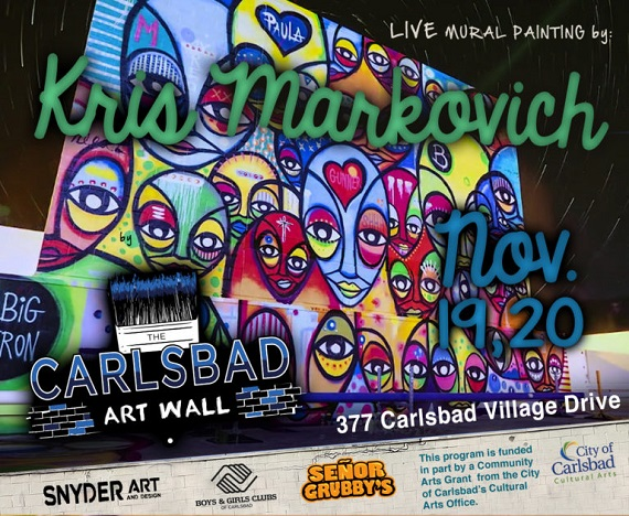 New Art Wall This Weekend